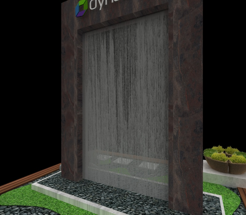 custom waterfall design