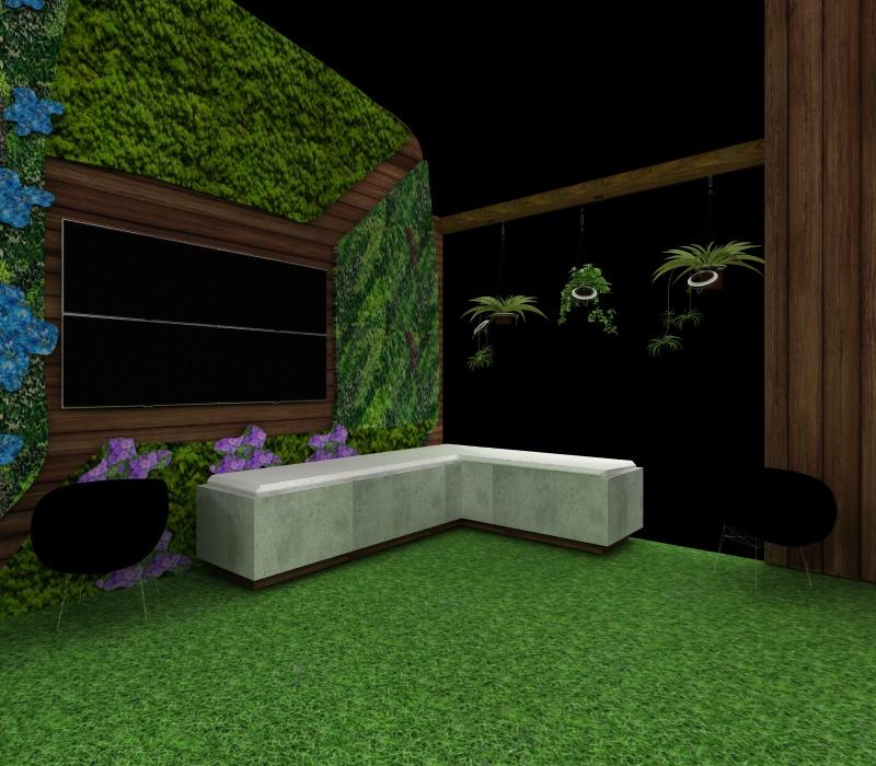 custom garden display