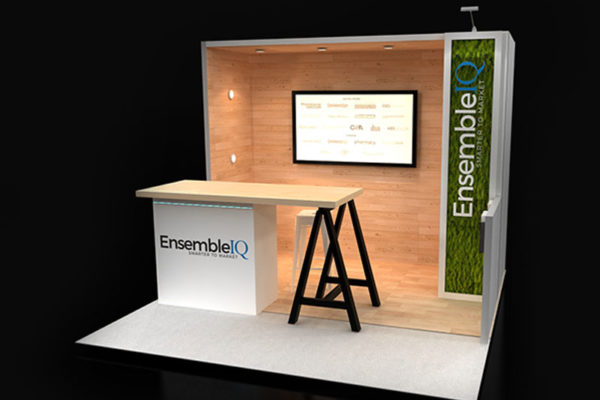 Reconfigurable trade show display