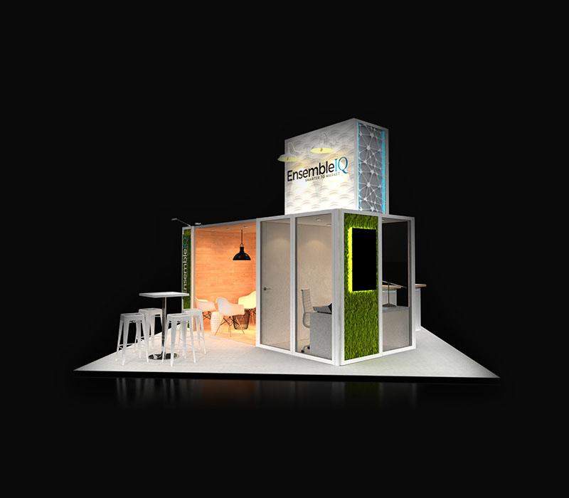 modular trade show exhibit