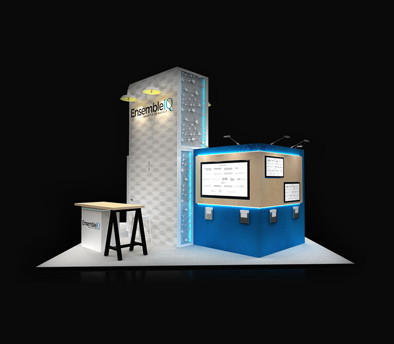 modular trade show booth