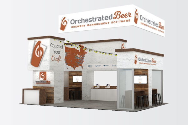 20 x 30 trade show display