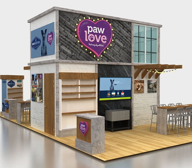 pet trade show display