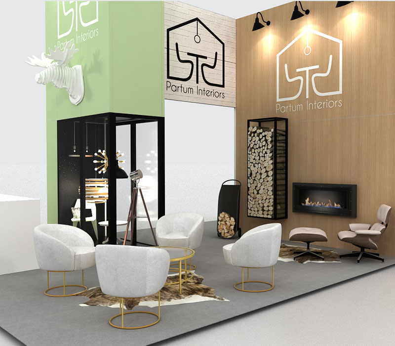 trade show display meeting space