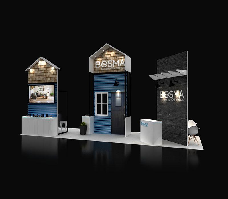 ISC West trade show exhibit