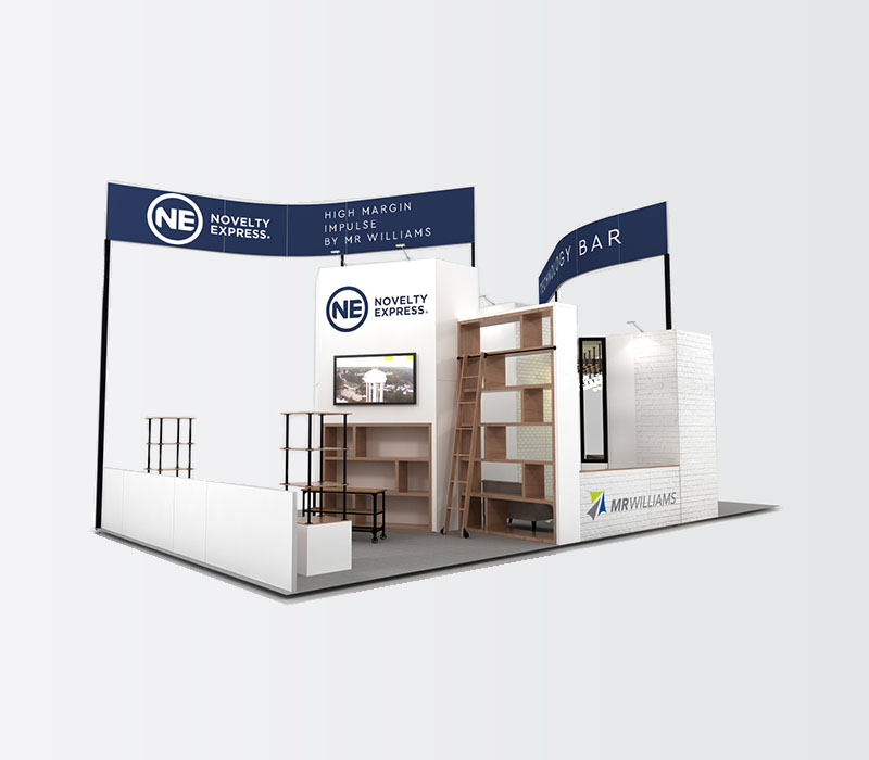foodservice trade show booth