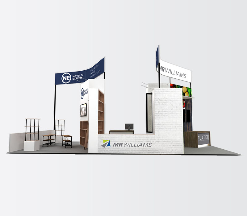 foodservice trade show display