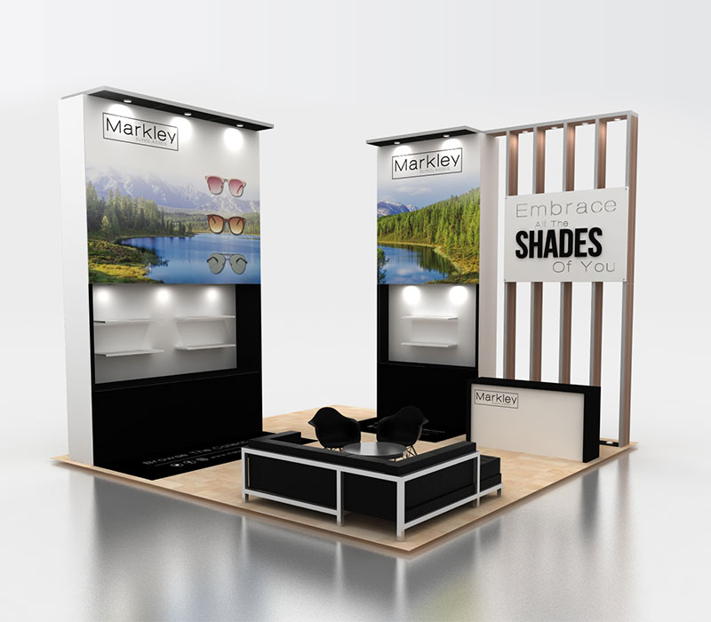 Vision Expo West trade show booth
