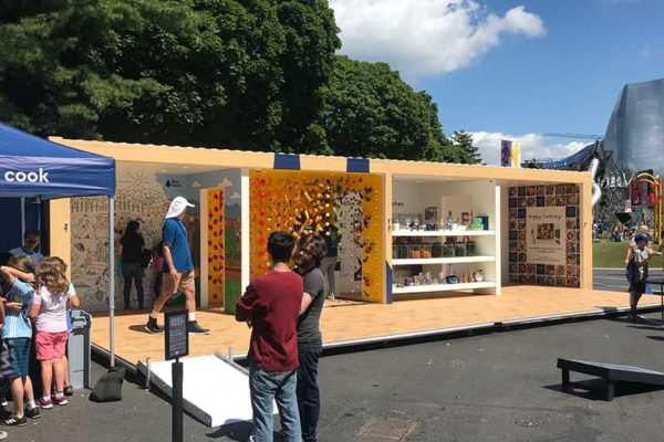 FOOD EVENT SHIPPING CONTAINER