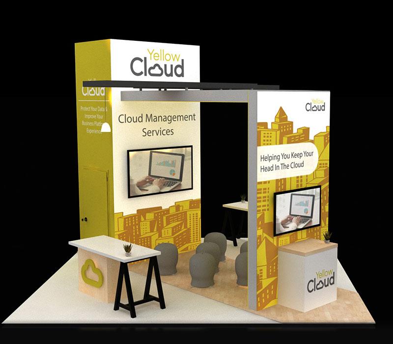 Custom trade show display tower