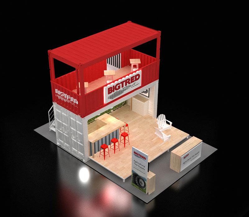 CONEXPO trade show booth