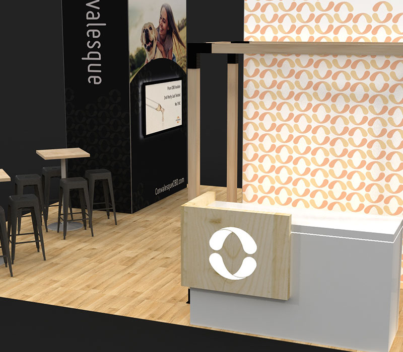 World CBD Expo trade show booths