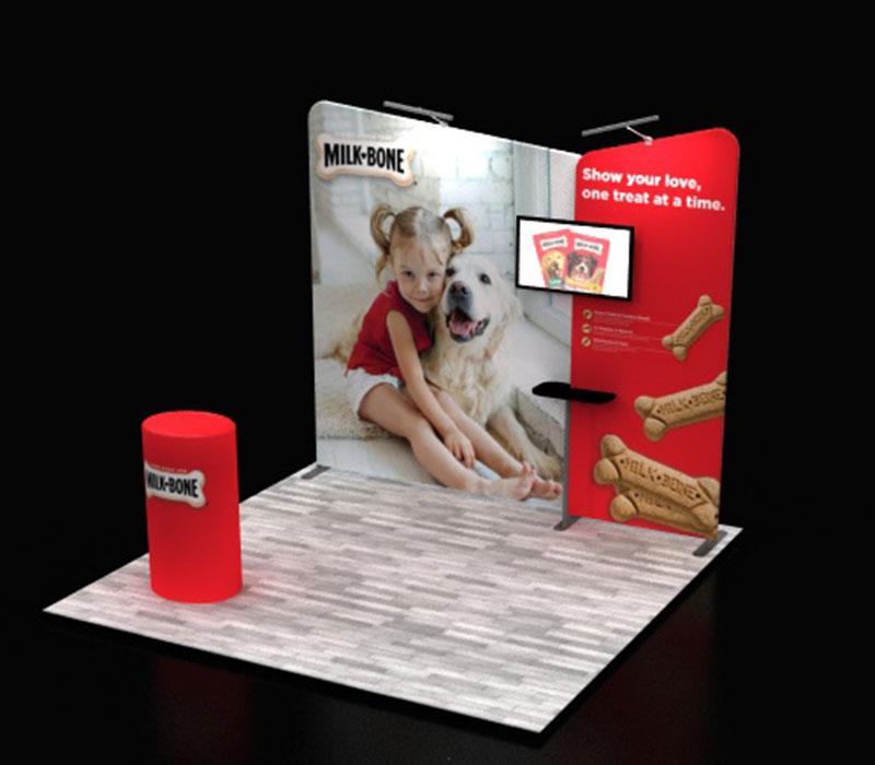 fabric modular pop up displays