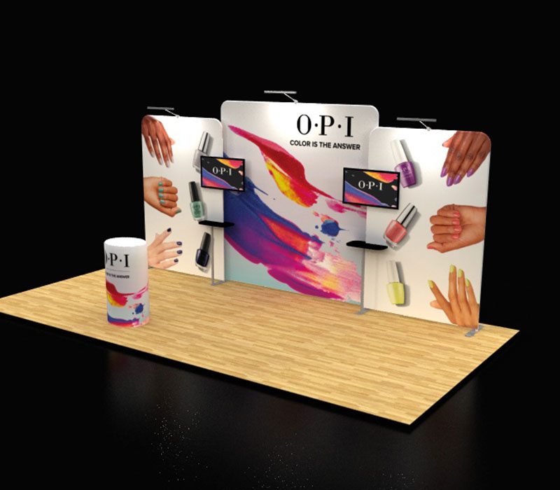 cosmoprof pop up booths