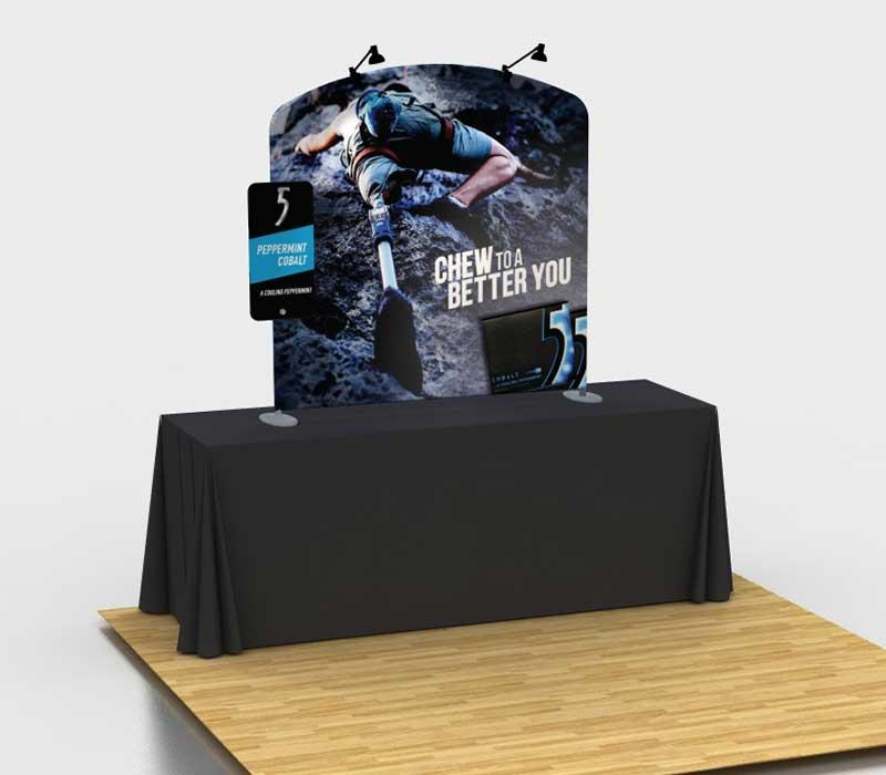 Quality Fabric Tabletop Display