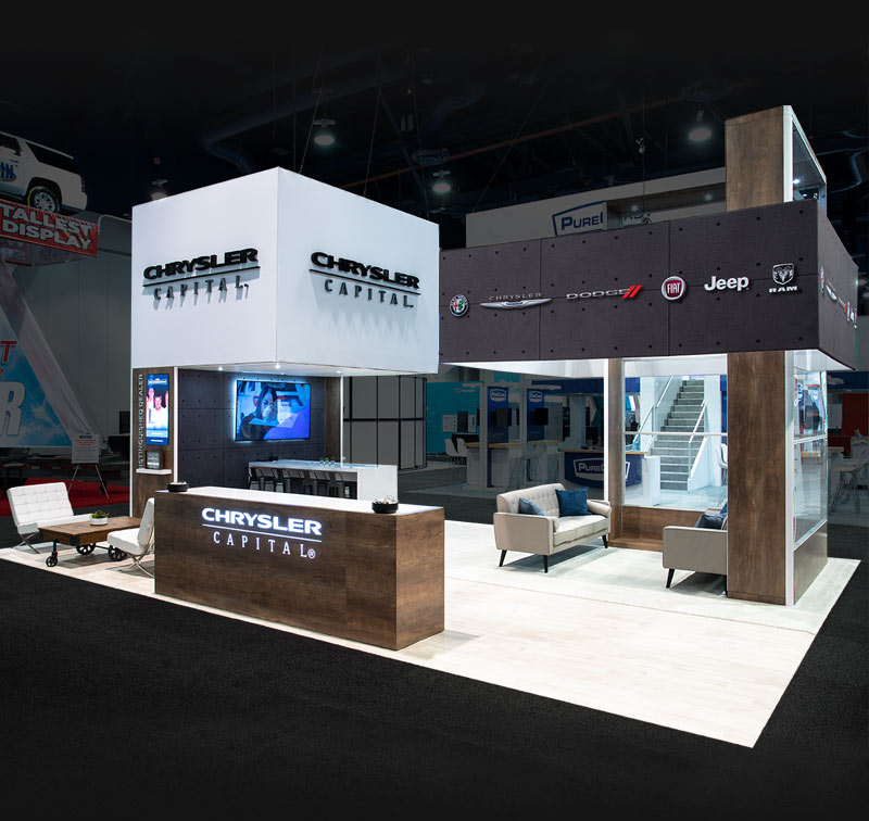 trade show display for NADA 2020