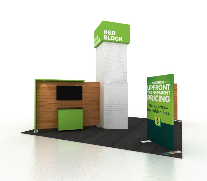 Lightweight 20x20 Trade Show Exhibits