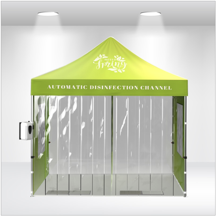 10x10 channel disinfectant covid-19 tent