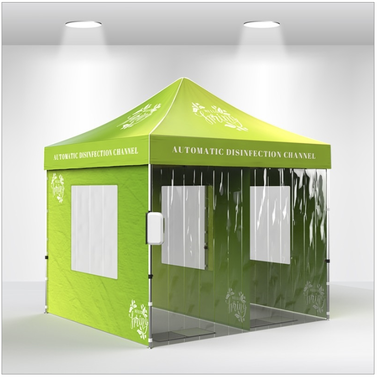 10x10 chanel disinfectant tent