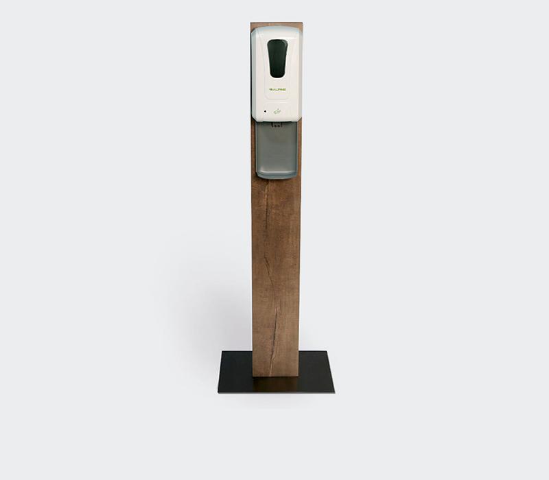 hand sanitizer stand station