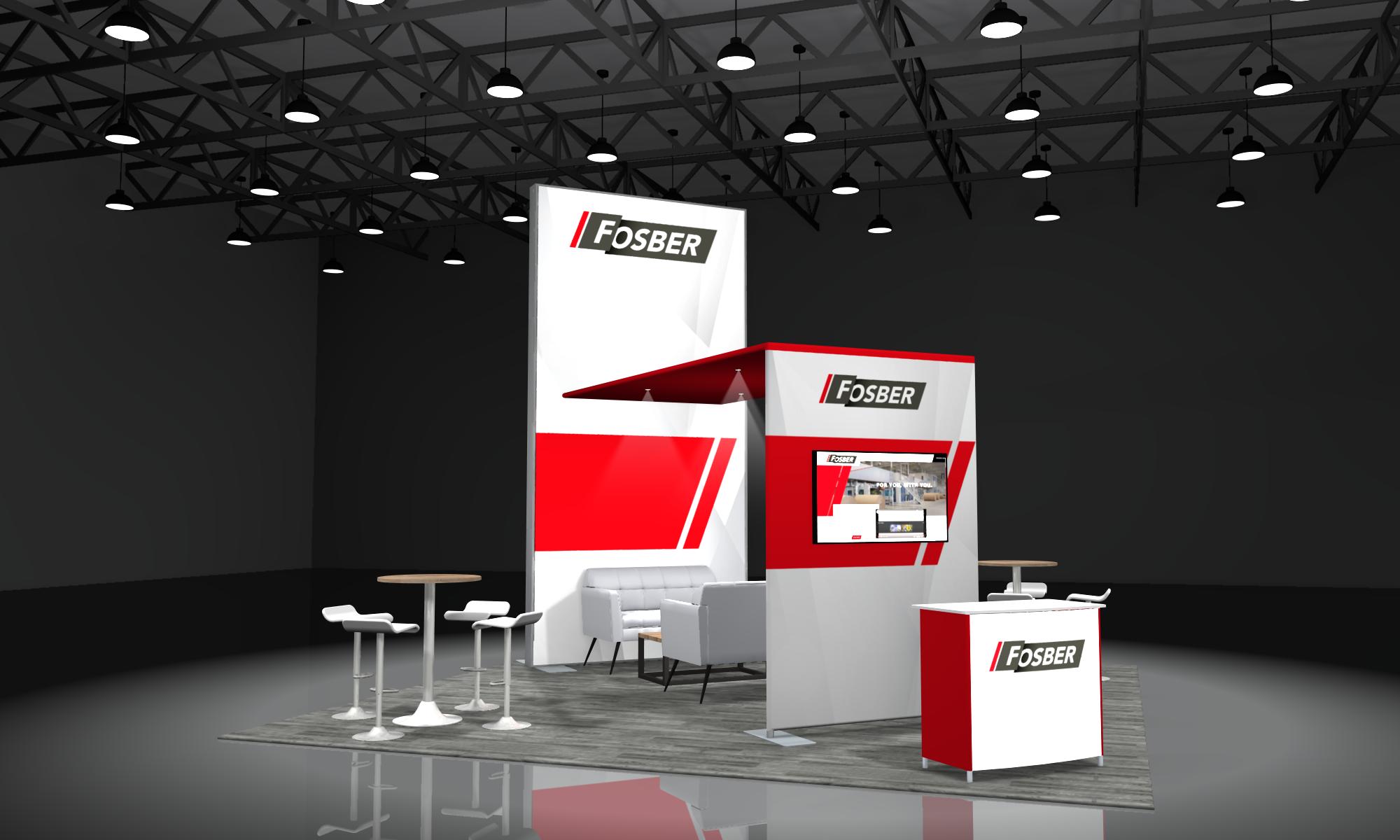 modular 20x20 trade show booths