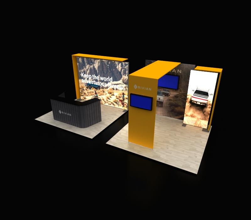 Custom Backlit Display Radiant 213C